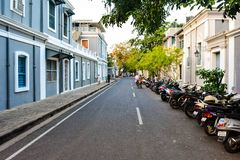 STREET VIEW - PONDICHERRY Stock Photography