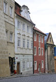 Street view from Prague in Czech Republic Stock Image
