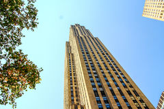 Street view of Rockefeller Center Stock Photography