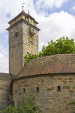 Street view of Rothenburg ob der Tauber. Stock Images