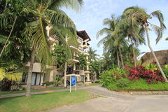 Street view in Sabah, Malaysia Stock Photography