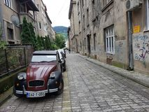 Street view from Sarajevo Royalty Free Stock Photography