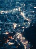Street view Seoul royalty free stock image