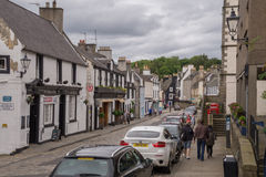 Street view of South Queensferry, Scotland Stock Photos