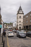 Street view of South Queensferry, Scotland Royalty Free Stock Image