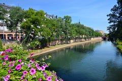 Street view of Strasbourg Royalty Free Stock Photo