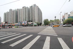 Street view in Taichung Royalty Free Stock Photo