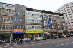 Street view in Taichung Royalty Free Stock Photography
