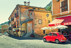 Street view in Tende, France. Stock Images