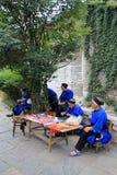 Street view in Tianlong Tunbao town China Stock Photo