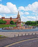 Street view to Glasgow City Chambers Royalty Free Stock Image