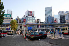 Street view in Tokyo, Japan Stock Photography