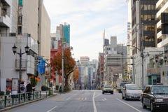 Street view in Tokyo, Japan Royalty Free Stock Image
