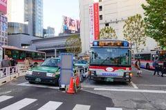 Street view in Tokyo, Japan Stock Photos