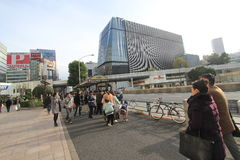 Street view in Tokyo Stock Images