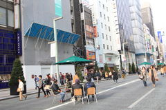 Street view in Tokyo Royalty Free Stock Photos