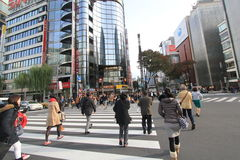 Street view in Tokyo Royalty Free Stock Photography
