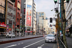 Street view in Tokyo, Japan Stock Photos