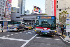 Street view in Tokyo, Japan Royalty Free Stock Photography
