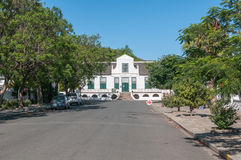 Street view towards the Reinet House in Graaff Reinet Stock Images