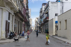 Street view, travel general imagery from Cuba Stock Photo