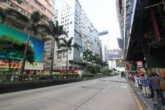 Street view in Tsim Sha Tsui, Hong Kong Royalty Free Stock Images
