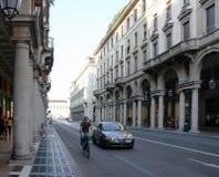 Street View Turin Italy Royalty Free Stock Photo
