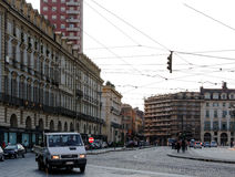Street View Turin Italy Royalty Free Stock Photography