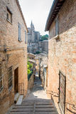 Street view in Urbino, Italy Royalty Free Stock Photo
