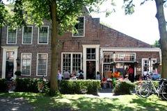 street view in Veere Stock Photo
