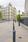 Street view of the Whitehall Court Royalty Free Stock Photography