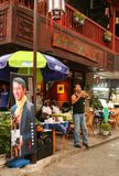 The street view in yangshuo, guilin, china Royalty Free Stock Photography
