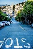 Street views and scenes around san franciscocalifornia Stock Photos