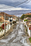 Street in Villa de Leyva Royalty Free Stock Photo