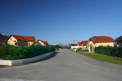 Street in the village Royalty Free Stock Photography