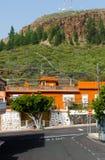 Street in village Alfarero del Arguayo, Tenerife, Stock Images