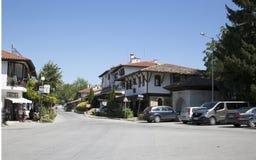 Street in the village of Arbanasi Veliko Tarnovo, Bulgaria.  Stock Images