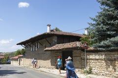 Street in the village of Arbanasi Veliko Tarnovo. Veliko Tarnovo, Bulgaria - August 10, 2017: Street in the village of Arbanasi Veliko Tarnovo Royalty Free Stock Image