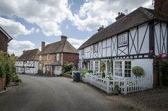 Street in the village of Chilham Stock Images
