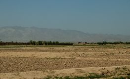 Street and village life in Gardez in Afghanistan in the summer stock photography