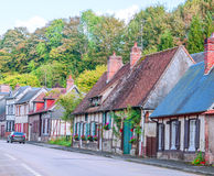 Street in a village Stock Images