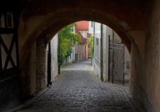 Street in Visby Royalty Free Stock Image