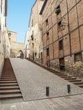 Street of Vitoria Royalty Free Stock Image