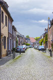 Street in Wachtendonk, Germany Royalty Free Stock Photography