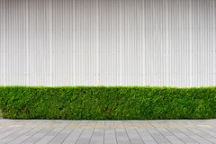 Street wall background ,Industrial background,. Empty grunge urban street with warehouse brick wall stock image