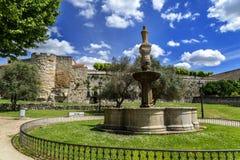 Street walls of Zamora. Historical case of the medieval city of Zamora, Spain Stock Photos
