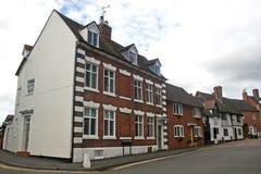 Street in Warwick Royalty Free Stock Photos