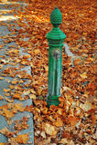 Street water pump Stock Image