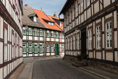 Street in Wernigerode, Germany Stock Photography