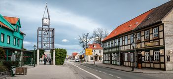 Street in Wernigerode, Germany Royalty Free Stock Photography